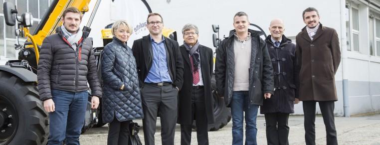 MEP Françoise Grossetête visits Haulotte
