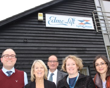 MEP Vicky Ford visits Edmolift