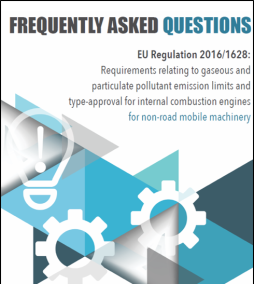 The joint industry NRMM Frequently Asked Questions Document is now published!