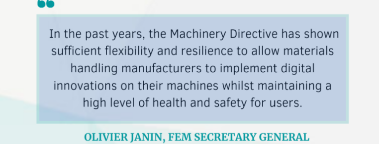 The Machinery Directive: a resilient and effective driver of innovation and digital transformation